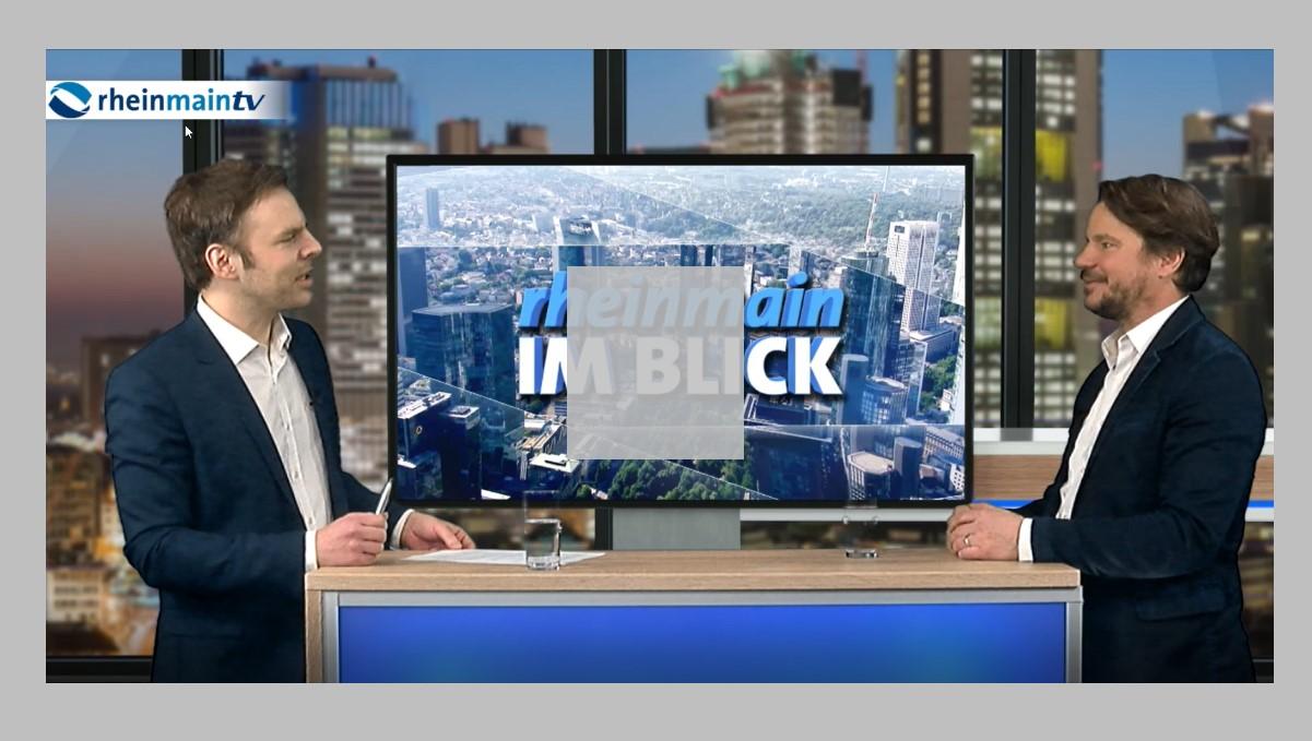 Mark Zimmermann bei RheinMain TV