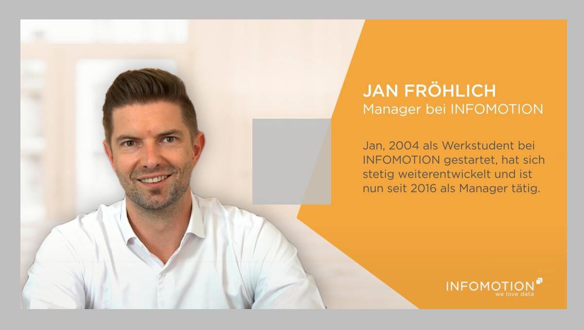 INFOMOTION Karriere - Jans Erfolgsgeschichte