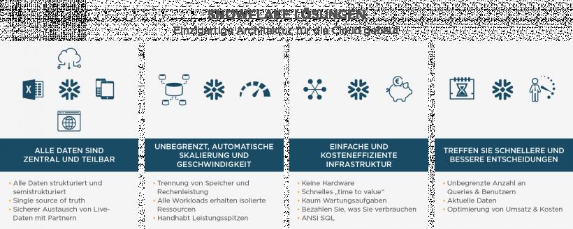 Snowflake Lösungen