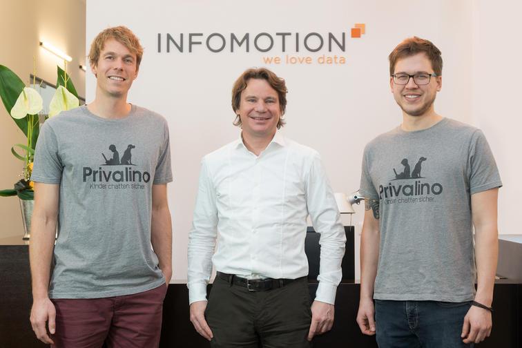 Dr. Nicolai Erbs, Mark Zimmermann, Patrick Schneider (v. l.)