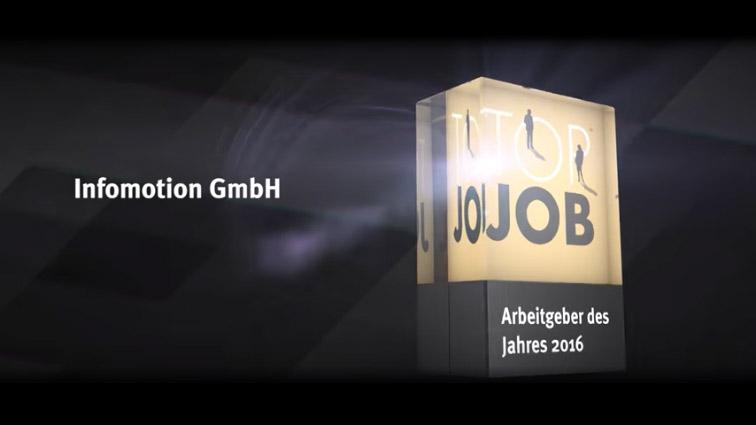 INFOMOTION: Arbeitgeber des Jahres
